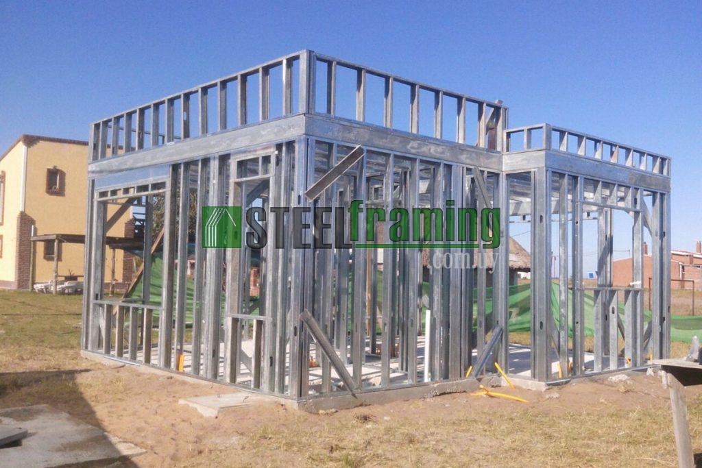 Proyectos casas prefabricadas, steel framing y construcción en seco Uruguay